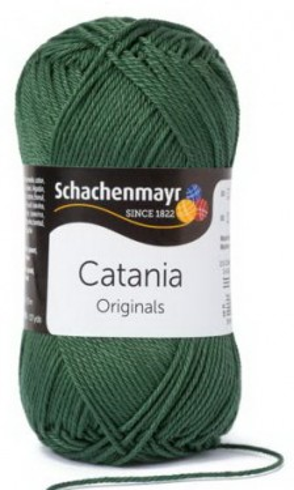 Poze Fir de tricotat sau crosetat - Fir BUMBAC 100% MERCERIZAT CATANIA TANNENBAUM 419
