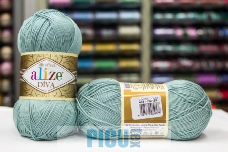 Poze Fir de tricotat sau crosetat - Fir microfibra ALIZE DIVA ALBASTRU 463