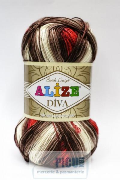 Poze Fir de tricotat sau crosetat - Fir microfibra ALIZE DIVA BATIK DEGRADE 4574