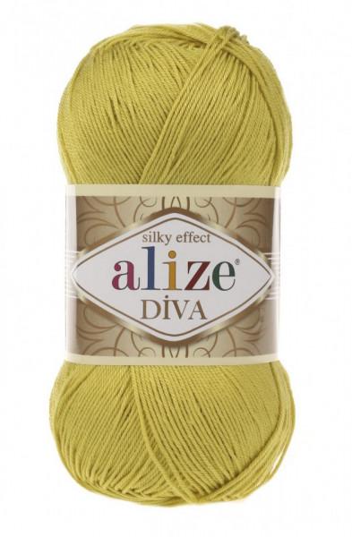 Poze Fir de tricotat sau crosetat - Fir microfibra ALIZE DIVA LIME 109