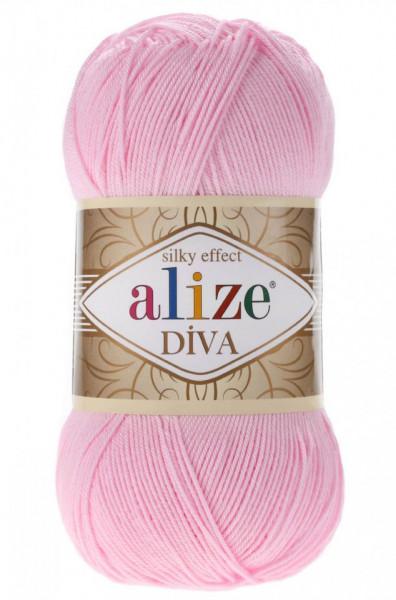 Poze Fir de tricotat sau crosetat - Fir microfibra ALIZE DIVA ROZ 291