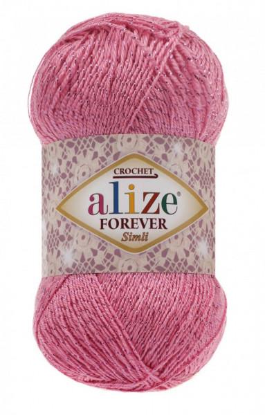 Poze Fir de tricotat sau crosetat - Fir microfibra ALIZE FOREVER SIMLI ROZ 39