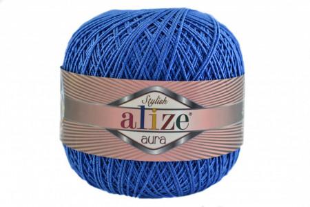 Poze Fir de tricotat sau crosetat - Fire Alize Aura - Albastru - 141