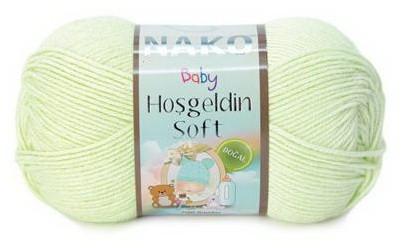 Poze Fir de tricotat sau crosetat - Fire amestec BAMBUS + POLIAMIDA NAKO Hoşgeldin Soft VERNIL 10559