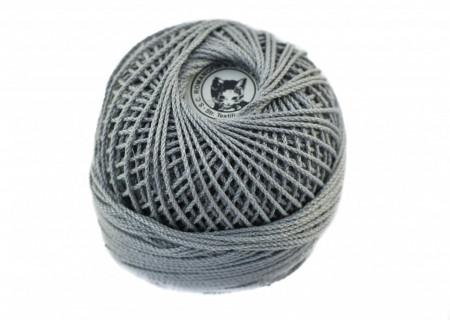 Poze Fir de tricotat sau crosetat - Fire Bumbac 100% ANGELICA ROMANOFIR BOBINA GRI 1281