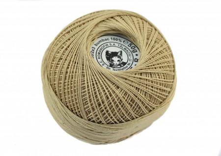 Poze Fir de tricotat sau crosetat - Fire Bumbac 100% ANGELICA ROMANOFIR BOBINA BEJ 6