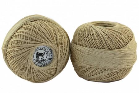Poze Fir de tricotat sau crosetat - Fire Bumbac 100% CROSET ROMANOFIR BOBINA BEJ 6