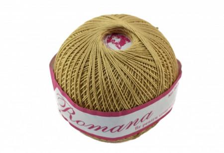 Poze Fir de tricotat sau crosetat - Fire Bumbac 100% ROMANA - ROMANOFIR BOBINA BEJ 6P