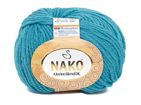 Poze Fir de tricotat sau crosetat - Fire din lana 100% Nako Merino Blend DK - TURQUAZ COD 10608