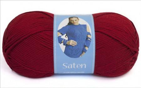 Poze Fir de tricotat sau crosetat - Fire Nako SATEN GRENA 1175