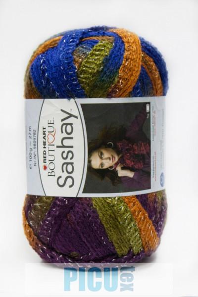 Poze Fir de tricotat sau crosetat - Fire pretricotate esarfa SASHAY degrade S 1950