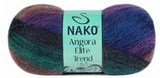 Poze Fir de tricotat sau crosetat - Fire tip mohair acril NAKO ANGORA ELITE TREND 80915