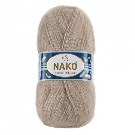 Poze Fir de tricotat sau crosetat - Fire tip mohair acril NAKO MOHAIR DELICATE - BEJ COD 1199