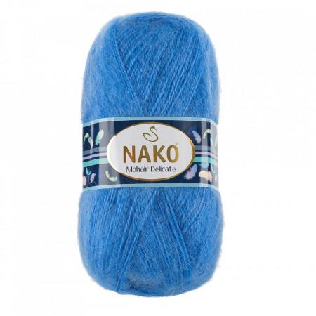 Poze Fir de tricotat sau crosetat - Fire tip mohair acril NAKO MOHAIR DELICATE - BLEO COD 6120