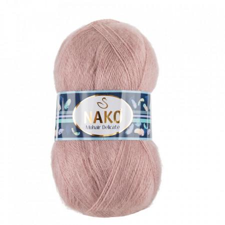 Poze Fir de tricotat sau crosetat - Fire tip mohair acril NAKO MOHAIR DELICATE - ROZ COD 11183