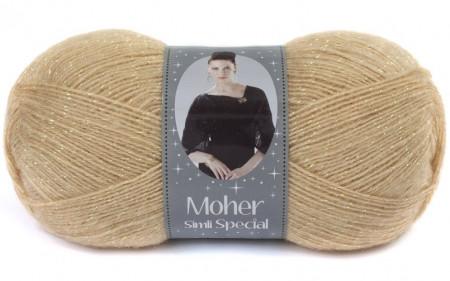 Poze Fir de tricotat sau crosetat - Fire tip mohair acril NAKO MOHER SIMLI SPECIAL BEJ 219SE