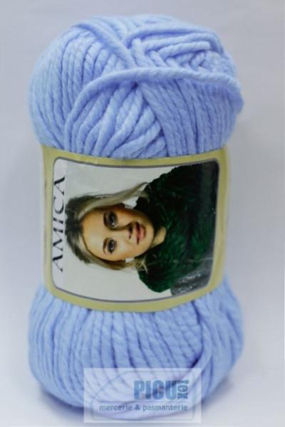 Poze Fir de tricotat sau crosetat - Fire tip mohair din acril AMICA BLEO - 322