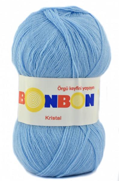 Poze Fir de tricotat sau crosetat - Fire tip mohair din acril BONBON KRISTAL bleo 98231