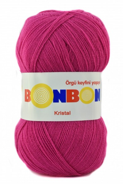 Poze Fir de tricotat sau crosetat - Fire tip mohair din acril BONBON KRISTAL  98403