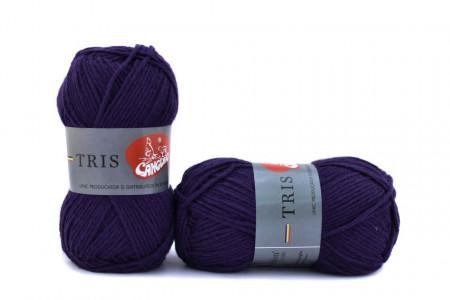 Poze Fir de tricotat sau crosetat - Fire tip mohair din acril CANGURO - TRIS BLEOMAREN 339