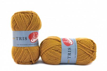 Poze Fir de tricotat sau crosetat - Fire tip mohair din acril CANGURO - TRIS BEJ 317