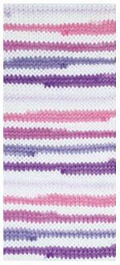 Poze Fir de tricotat sau crosetat - Fire tip mohair din acril degrade Nako Lolipop mix 80434