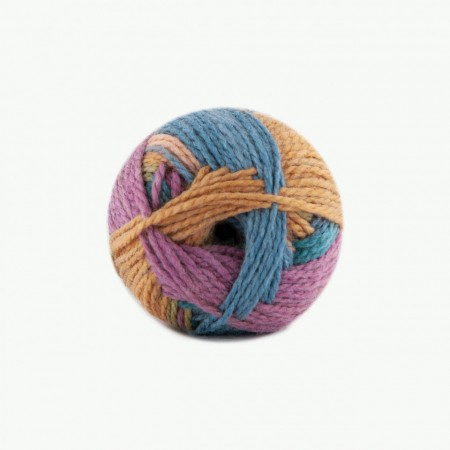 Poze Fir de tricotat sau crosetat - Fire tip mohair din acril Kamgarn Papatya Joyful degrade 23