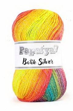 Poze Fir de tricotat sau crosetat - Fire tip mohair din acril Kamgarn Papatya Silver Batik degrade 37