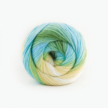 Poze Fir de tricotat sau crosetat - Fire tip mohair din acril Kamgarn Papatya Batik degrade 17