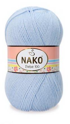 Poze Fir de tricotat sau crosetat - Fire tip mohair din acril Nako Baby bleo 23070