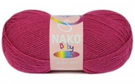 Poze Fir de tricotat sau crosetat - Fire tip mohair din acril Nako Baby ROZ 10676