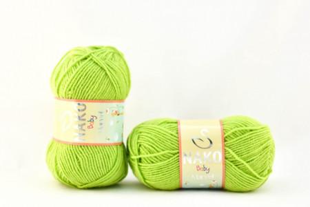 Poze Fir de tricotat sau crosetat - Fire tip mohair din acril Nako Baby MARVEL VERNIL 11014