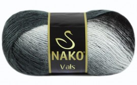 Poze Fir de tricotat sau crosetat - Fire tip mohair din acril premium Nako VALS DEGRADE 85862