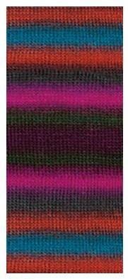 Poze Fir de tricotat sau crosetat - Fire tip mohair din acril premium Nako VALS DEGRADE 85802