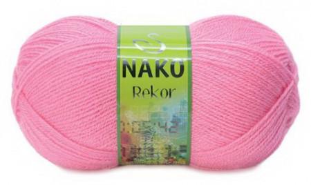 Poze Fir de tricotat sau crosetat - Fire tip mohair din acril premium Nako REKOR ROZ 2244