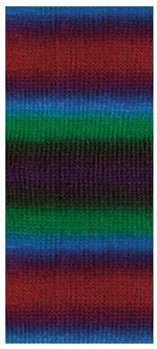 Poze Fir de tricotat sau crosetat - Fire tip mohair din acril premium Nako VALS DEGRADE 85801