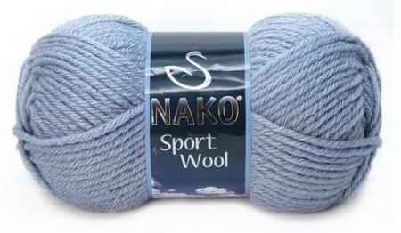 Poze Fir de tricotat sau crosetat - Fire tip mohair din acril si lana Nako Sport Wool BLEO 11223