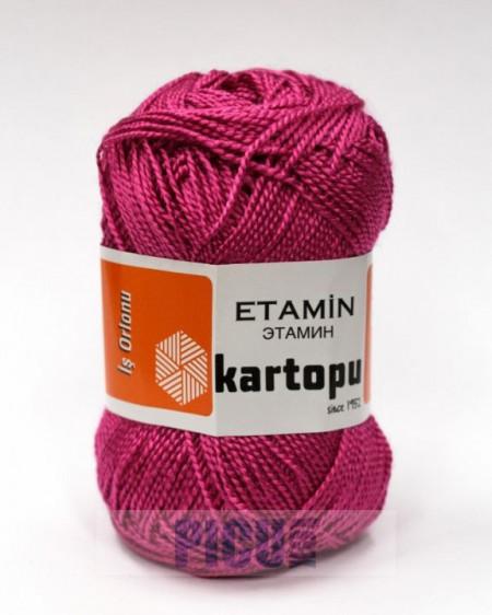 Poze Fir de tricotat,brodat sau crosetat - Fir KARTOPU ETAMIN ROZ - 740