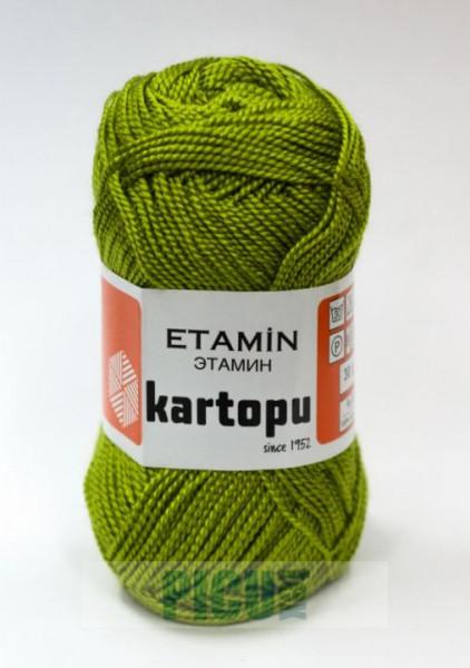 Poze Fir de tricotat,brodat sau crosetat - Fir KARTOPU ETAMIN VERDE - 369