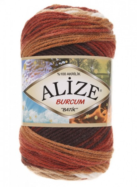 Poze Fir de tricotat sau crosetat - Fir ACRILIC ALIZE BURCUM BATIK DEGRADE 2626