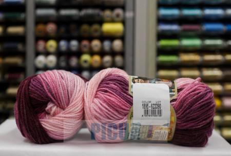 Poze Fir de tricotat sau crosetat - Fir ACRILIC ALIZE BURCUM BATIK DEGRADE 1895