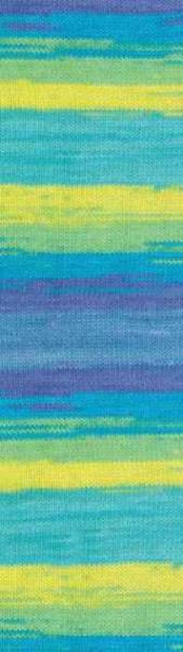 Poze Fir de tricotat sau crosetat - Fir ALIZE COTTON GOLD BATIK - DEGRADE 4146