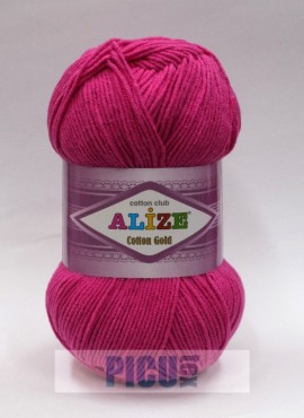 Poze Fir de tricotat sau crosetat - Fir ALIZE COTTON GOLD FUCHSIA 149