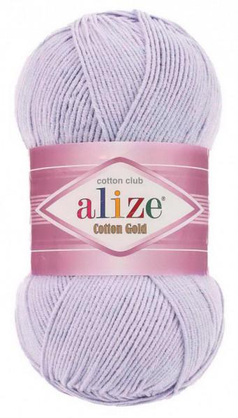 Poze Fir de tricotat sau crosetat - Fir ALIZE COTTON GOLD LILA 682