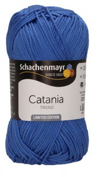 Poze Fir de tricotat sau crosetat - Fir BUMBAC 100% MERCERIZAT CATANIA FASHION BLUE COD 293