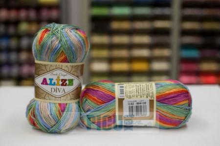 Poze Fir de tricotat sau crosetat - Fir microfibra ALIZE DIVA BATIK DEGRADE 3242
