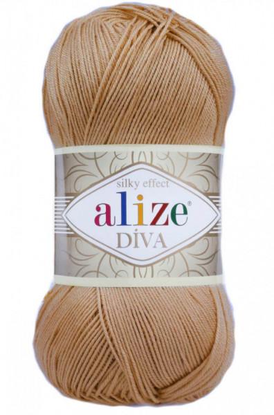 Poze Fir de tricotat sau crosetat - Fir microfibra ALIZE DIVA BEJ 369