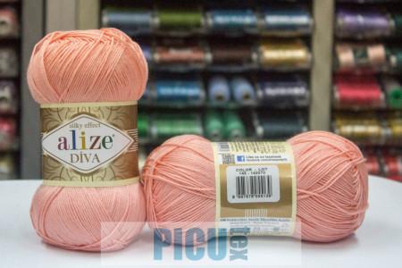 Poze Fir de tricotat sau crosetat - Fir microfibra ALIZE DIVA FREZ 145