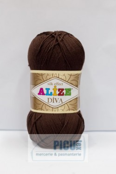 Poze Fir de tricotat sau crosetat - Fir microfibra ALIZE DIVA MARO 26