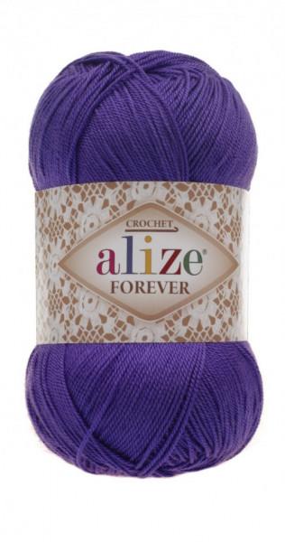 Poze Fir de tricotat sau crosetat - Fir microfibra ALIZE FOREVER MOV 252